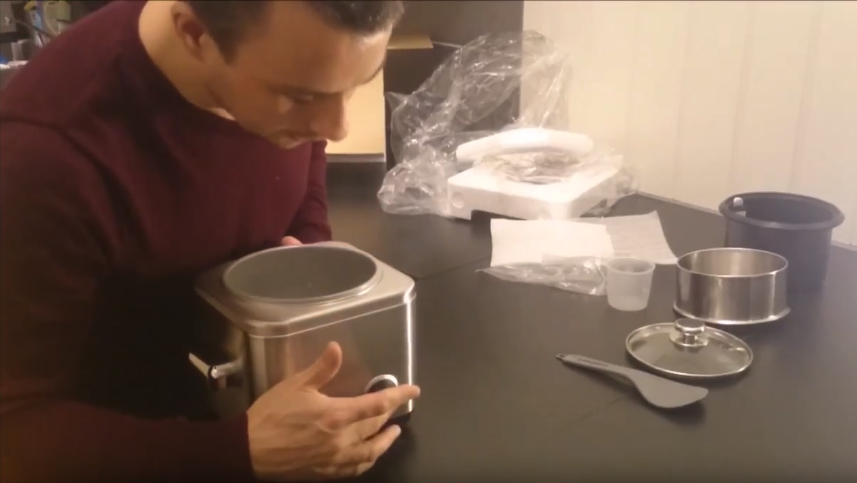 Cuisinart CRC400 Rice Cooker Unboxing