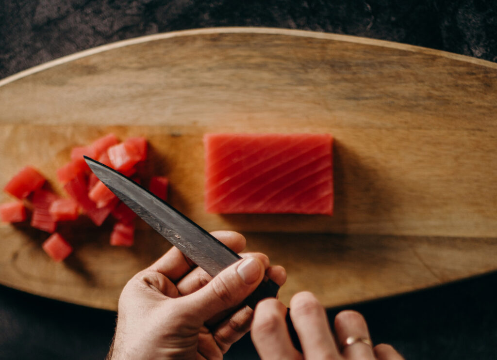 Best trimming knife for seafood